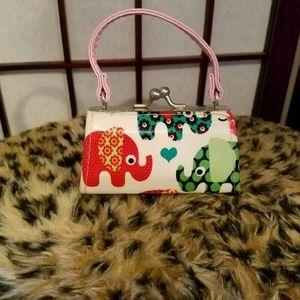 Handbags - 💎Tiny Elephant Purse/Lipstick Case